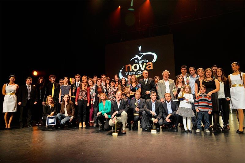 Edu editorial ganador Premio Nova al emprendimiento del año 2014